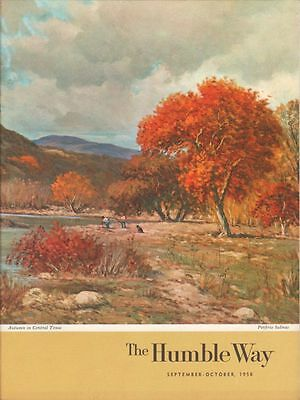 Sept-Oct 1958 HUMBLE OIL (Later Exxon) Employee Magazine - The Humble Way