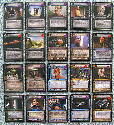Star Trek CCG 2e In A Mirror, Darkly Rare Cards (IAMD)