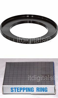 Step-up Metal Stepping Adapter Ring 49mm-62mm 49mm Lens to 62mm Filter Cap Japan