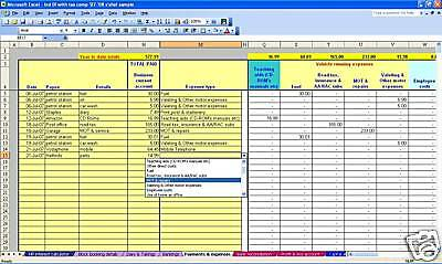 CIS scheme subcontractor accounts & tax software 18-19