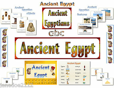 THE EGYPTIANS / ANCIENT EGYPT DISPLAY pack - KS2 History - teaching resources