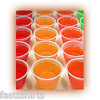 100 2 oz souffle cups for Jello Shots Shooters with lids FREE SHIPPING
