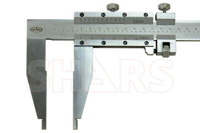 "Shars 24""/600 Inch Metric Heavy Duty Vernier Caliper .001"" New"