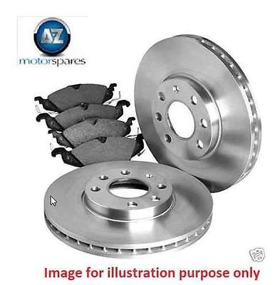 FOR Mini Clubman Cooper S 2007>ON 1.6D New Rear Brake Discs + Disc Pad Set