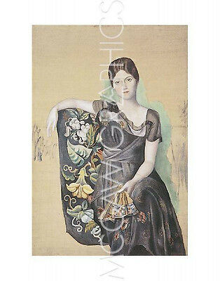 """PICASSO PABLO - OLGA IN AN ARMCHAIR - ART PRINT POSTER 14"""" x 11"""" (493)"""