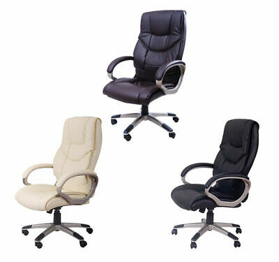 HOMCOM Computer Office Desk Chair Luxury PU Leather Swivel Ergonomic Executive