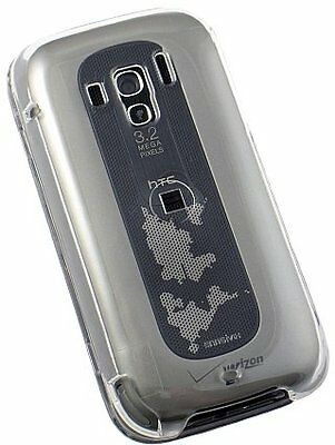 NEW CLEAR HARD CASE COVER FOR VERIZON/TELUS HTC TOUCH PRO 2 PHONE
