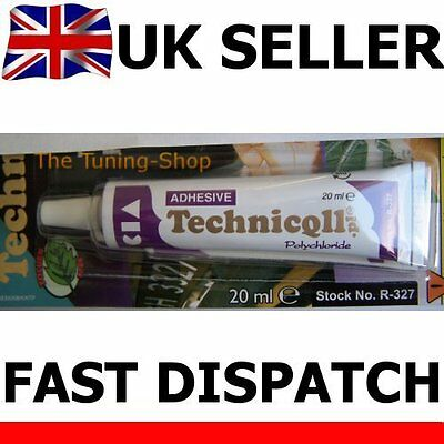 20ml STRONG CLEAR ADHESIVE GLUE - HARD PLASTIC ABS TR EVA PERSPEX ACRYLIC GLASS