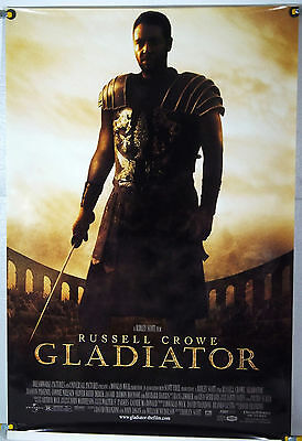Gladiator Ds Rolled Orig 1Sh Movie Poster Russell Crowe Ridley Scott (2000)
