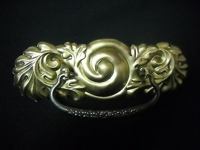 Large Victorian  Brass Drawer Pull