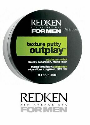 Redken for Men OUTPLAY PUTTY 100ml New & Genuine Redken for Men OUT PLAY PUTTY