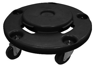 """GSW Twist Off Dolly 18"""" Dia for Trash Container 300 LBS Capacity C-TD18"""
