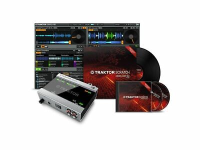 Native Instruments TRAKTOR SCRATCH A6 software scheda audio timecode cd vinile