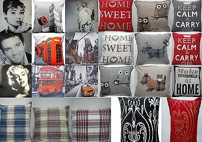 """18"""" X 18"""" Inch Plain Vintage Cushion Covers For Bedroom /lounge Room / Souvenirs"""