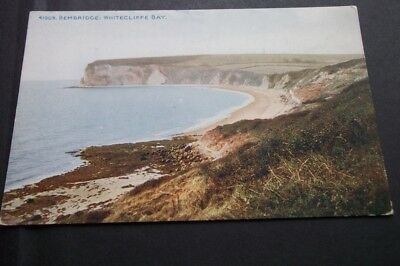 Old Postcard Of Whitecliffe Bay