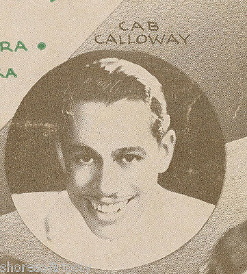 1930's JAZZ CAB CALLOWAY ~ BOSWELL SISTERS ~ MILLS BROTHERS & MORE ~ SHEET MUSIC