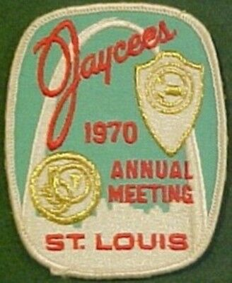 1970 Jaycees St. Louis Annual Meeting Patch