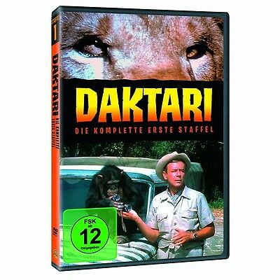 Daktari - Season/Staffel 1 * NEU OVP * 4 DVD Box
