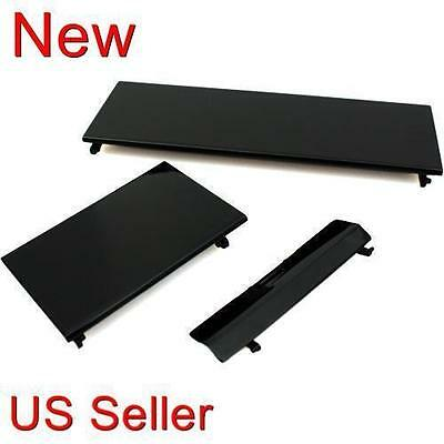 3 Black Replacement Door Slot Cover Lid Part for Nintendo Wii Console System New