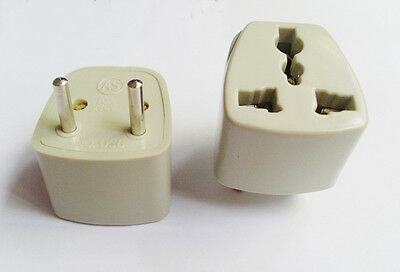 1x 250V 10A US UK EURO AU TO EURO EU Travel Wall AC Power Plug Adapter Converter