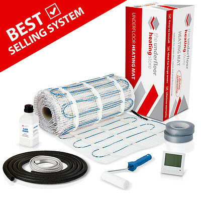 Electric Underfloor Heating mat kit 200w per m2 All Sizes in this Listing