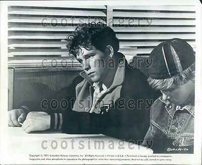 1971 Actor Timothy Bottoms in Movie The Last Picture Show Wire Photo