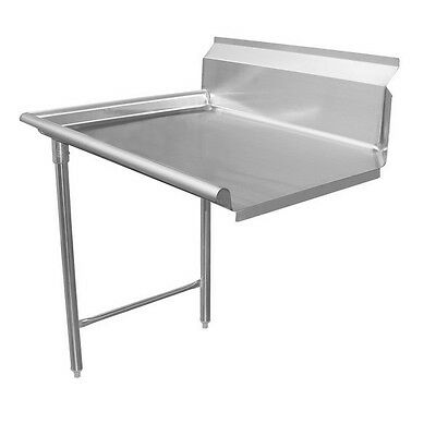 "ACE 96"" Stainless Steel Clean Dish Table Left Side 16 Gauge DT96C-L"