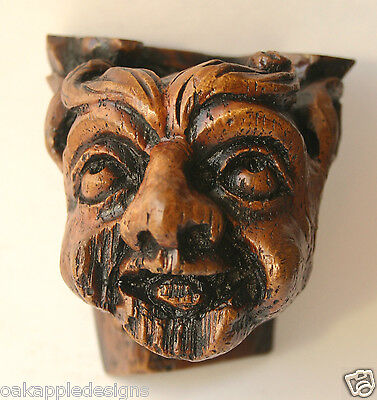 Medieval Goblin Gargoyle Mythical Creature Cathedral Carving Unique Gothic Gift