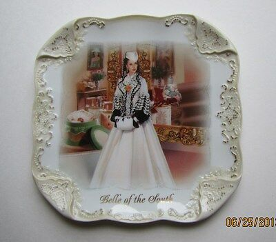 Scarlett O'Hara Belle Of The South Gone With The Wind Plate NIB  # 0102341004COA