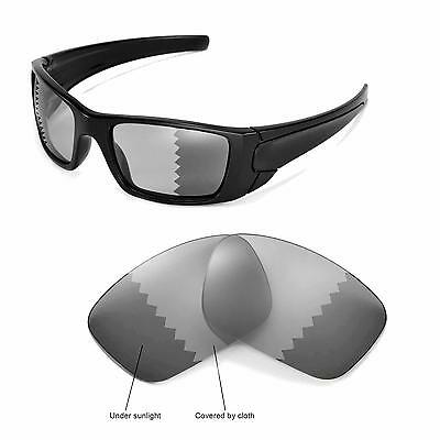 New Walleva Polarized Transition/Photochromic Lenses For Oakley Fuel Cell