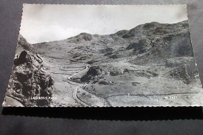 Old Postcard Of Llanberis Pass