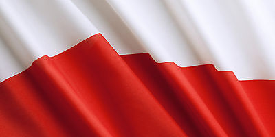 Giant Poland Polish Flag 5Ft X 3Ft 150Cm X 90Cm