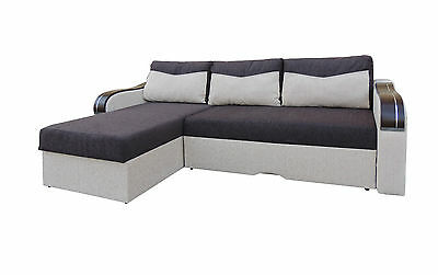 Corner Sofa Bed PAOLO wide 216cm  - Brand New - Chep from PRODUCER