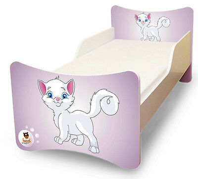 BEST FOR KIDS KINDERBETT BETT JUGENDBETT 3 DESIGNS MIT MATRATZE 70x140 90x200 cm