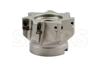 """Shars 3"""" 90° Indexable Face Mill Cutter Use Apmt Apkt 33 New $306.21 Off"""