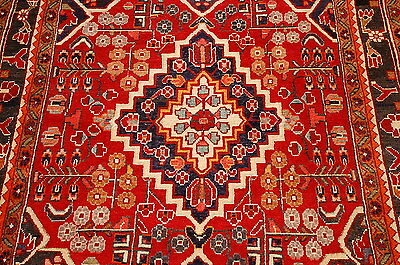 c1930s ANTIQUE PERSIAN SAROUK RUG 3.9x5.8 HIGHLY DETAILED BEAUTY SAVE BIG $$$$
