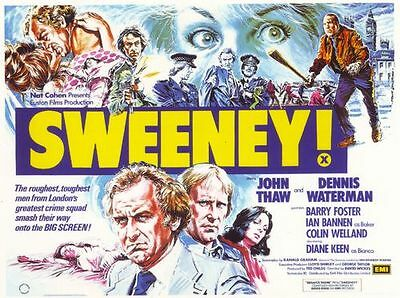 1970's Movie Poster The Sweeney A3  Reprint