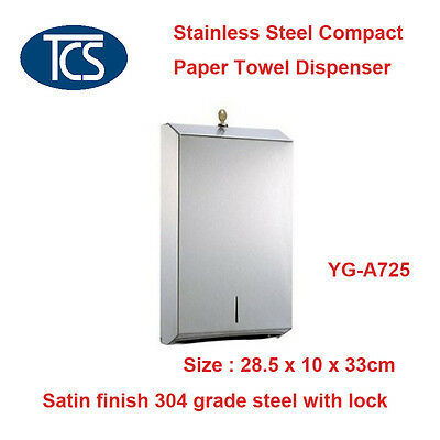Stainless Steel Compact Paper Towel Dispenser