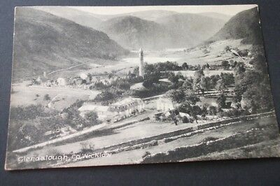 Old Postcard Of Glendalough,co, Wicklow