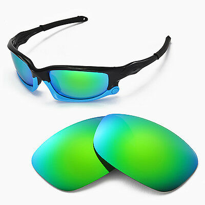 New Walleva Polarized Emeraldine Lenses For Oakley Split Jacket