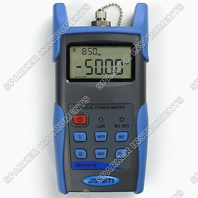 New Fiber Optic JW3216A handheld Optical Power Meter Tester -70 ~ +6dBm USB