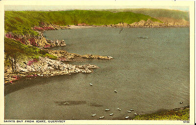 GUERNSEY : Saints Bay from Icart
