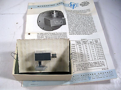Hp Waveguide Thermistor Mount R487B  Wr28 New