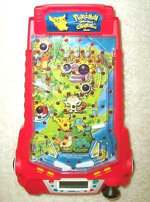 Pokemon Thundershock Challenge LED Pinball Game - EUC