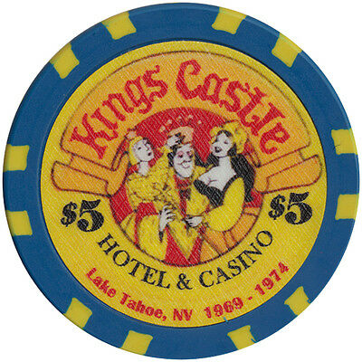 $5 Kings Castle Casino Fantasy Chip Las Vegas Nevada FREE Shipping *