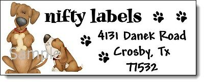 Too Cute Puppy Dogs #48 Laser Return Address Labels