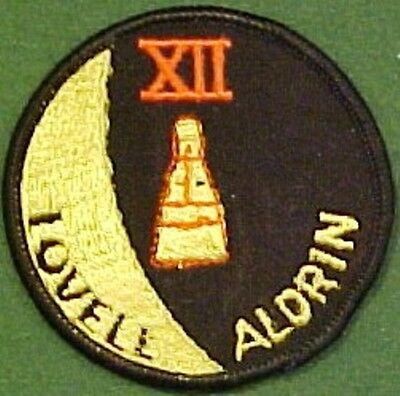 NASA Gemini XII Lovell - Aldrin Mission Patch