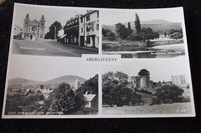 Old Postcard Of Abergavenny