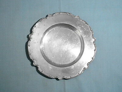 Unger Bros Sterling Bread Plate ~ No Mono