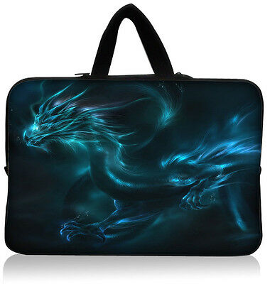"""Dragon 10"""" Laptop Netbook Handle Sleeve Case Bag for ACER Aspire One,HP Mini 110"""